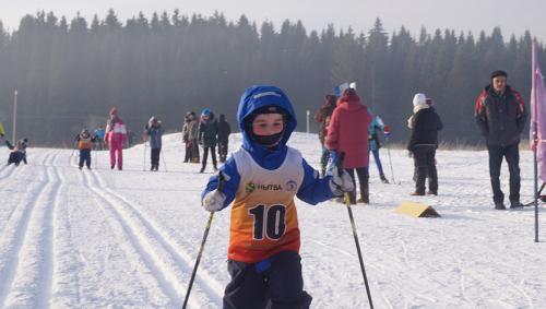 Всероссийская лыжная гонка Лыжня России 2018 в Нытвенском районе