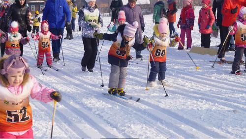 Всероссийская лыжная гонка Лыжня России 2018 в Нытвенском районе 2