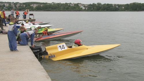 Краевые соревнования по водно моторному спорту