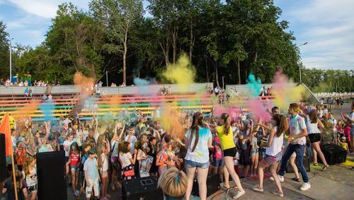 Районный праздник День молодежи МОЁ МЕСТО