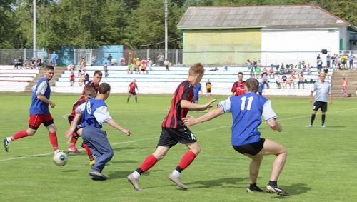 Соревнование по футболу в зачет спартакиады НМР среди городских и сельских поселений